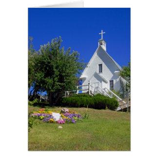 A igreja Católica de St Joseph Cartão Comemorativo