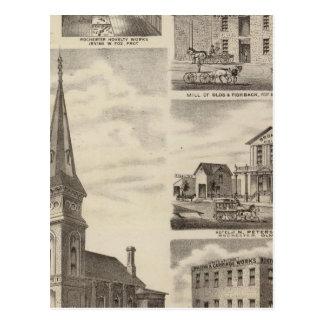 A igreja católica romana de St John, Minnesota Cartao Postal