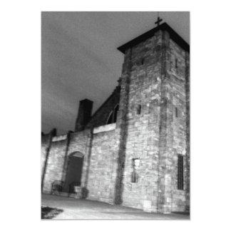A igreja convite 12.7 x 17.78cm