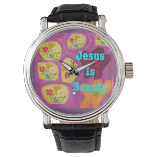 A igreja cura Jesus da esperança é relógio de
