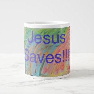 A igreja cura Jesus da esperança salvar a caneca