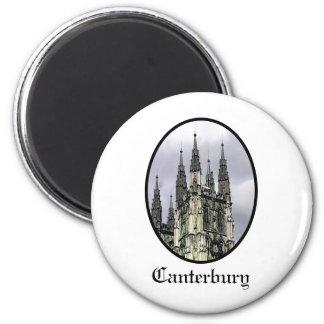A igreja de Inglaterra Canterbury espirala jGibney Ímã Redondo 5.08cm
