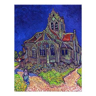 A igreja de Vincent van Gogh de Auvers Convite