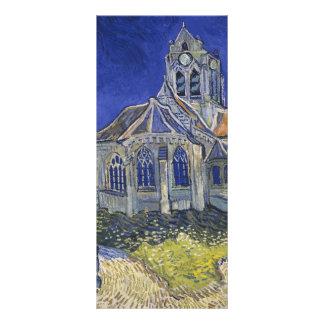 A igreja em Auvers por Vincent van Gogh Planfetos Informativos Coloridos
