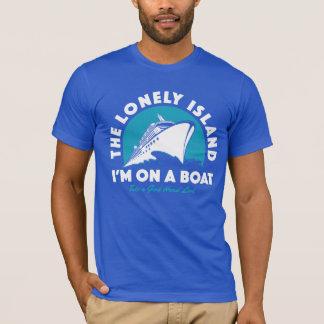 A ilha só - tome um olhar camiseta