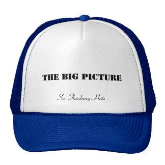 A imagem grande, seis chapéus de pensamento boné
