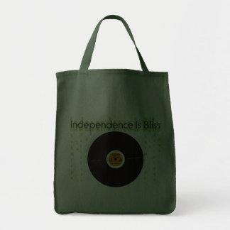 A independência é felicidade bolsa