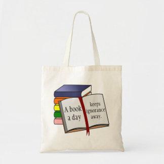 A instrução do apoio incentiva a leitura bolsa