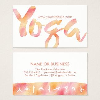 A IOGA levanta cartões de visitas cor-de-rosa da
