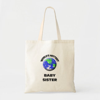 A irmã a mais quente do bebê do mundo sacola tote budget