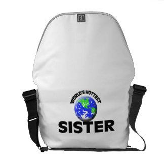 A irmã a mais quente do mundo bolsas mensageiro