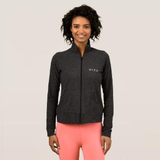 A jaqueta atlética das mulheres oficiais de N MIM
