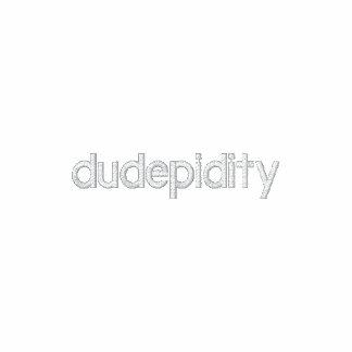 A jaqueta oficial da trilha de Dudepidity