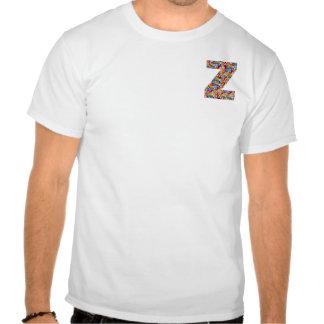 A JÓIA do ALFABETO do zzz SPARKLES, caso amoroso, Tshirts