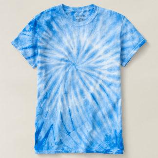 A Laço-Tintura azul DIY do CICLONE adiciona um Camiseta