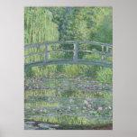 A lagoa de Waterlily: Harmonia verde, 1899 Poster