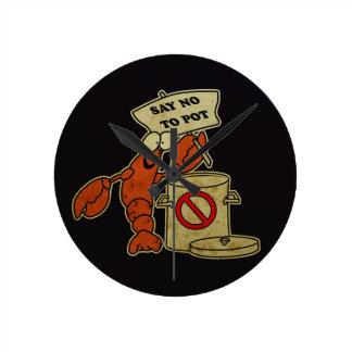A lagosta relógios para pendurar