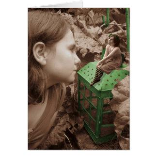 A lanterna verde cartão