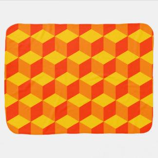 A laranja obstrui a cobertura do bebê cobertores para bebe