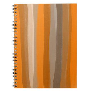 A laranja protege o caderno