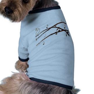 A lava musical nota produtos roupas para cães