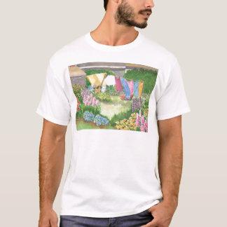A lavanderia de Kathy na camiseta de Maine da ilha