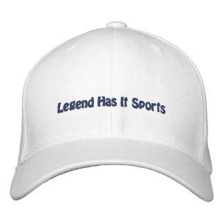 A legenda tem o ostenta/futebol de Dallas Boné Bordado