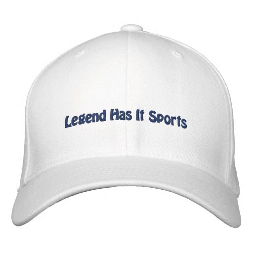 A legenda tem o ostenta/futebol de Dallas Bonés Bordados
