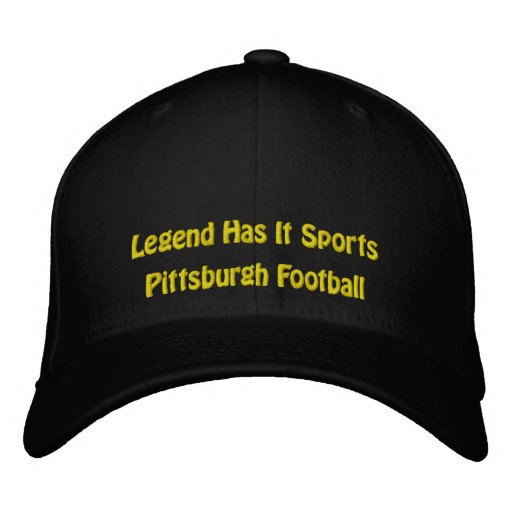 A legenda tem o ostenta/futebol de Pittsburgh Bone