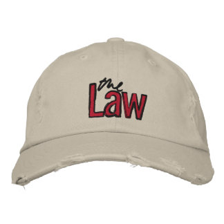 A lei - bordada - chapéu (bege) boné bordado