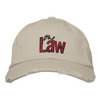 A lei - bordada - chapéu (bege) bone bordado