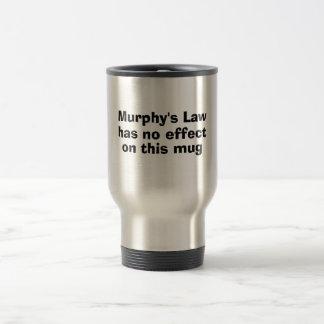 A lei de Murphy não tem nenhum efeito nesta caneca