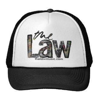 A lei - logotipo - chapéu boné
