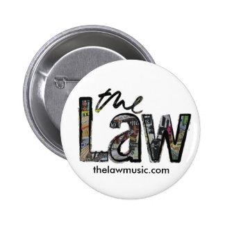 A lei - logotipo - crachá boton