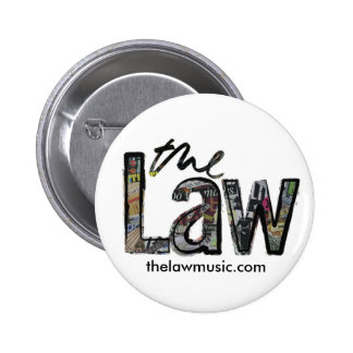 A lei - logotipo - crachá bóton redondo 5.08cm