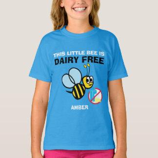 A leiteria personalizada Bumble livre a camisa do