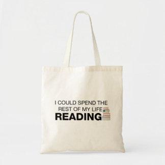 A leitura é vida - o bolsa dos amantes de livro
