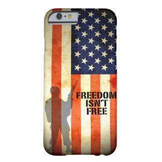 A liberdade da bandeira americana não é caso livre capa barely there para iPhone 6