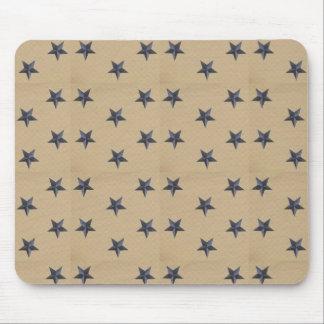 A liberdade doce Stars o marinho Tan Mousepad