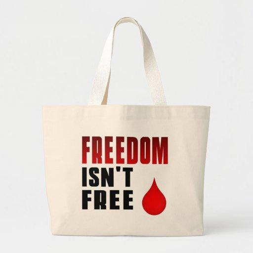 A liberdade não está livre bolsa para compras