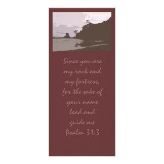 A ligação e guia-me - 31:3 do salmo 10.16 x 22.86cm panfleto