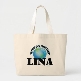 A Lina a mais quente do mundo Bolsas De Lona