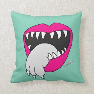 A língua obteve seu travesseiro do gato! por Jesse