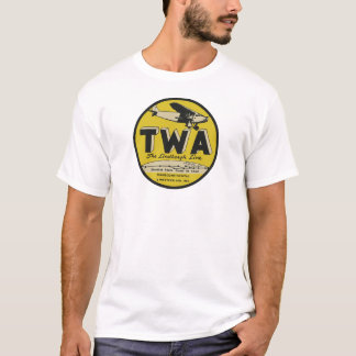 A linha os anos 30 de Lindbergh do T do valor Camiseta