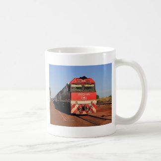 A locomotiva do trem de Ghan, Darwin Caneca De Café