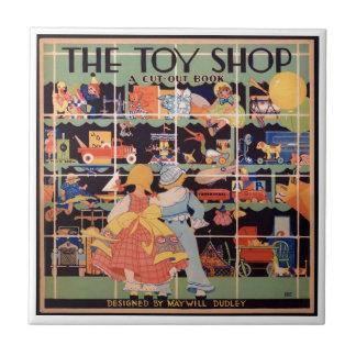 A loja || do brinquedo 1935 azulejos do livro do