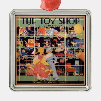 A loja || do brinquedo 1935 ornamento do livro do