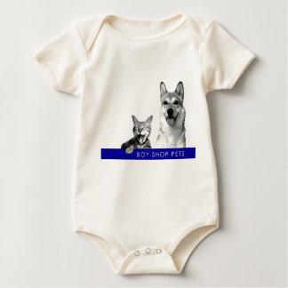A loja do menino Pets o t-shirt do Creeper do bebê