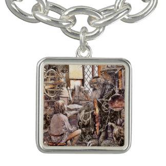 A loja mágica braceletes com charms