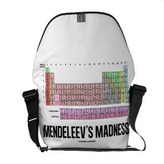 A loucura de Mendeleev (mesa de elementos periódic Bolsas Mensageiro